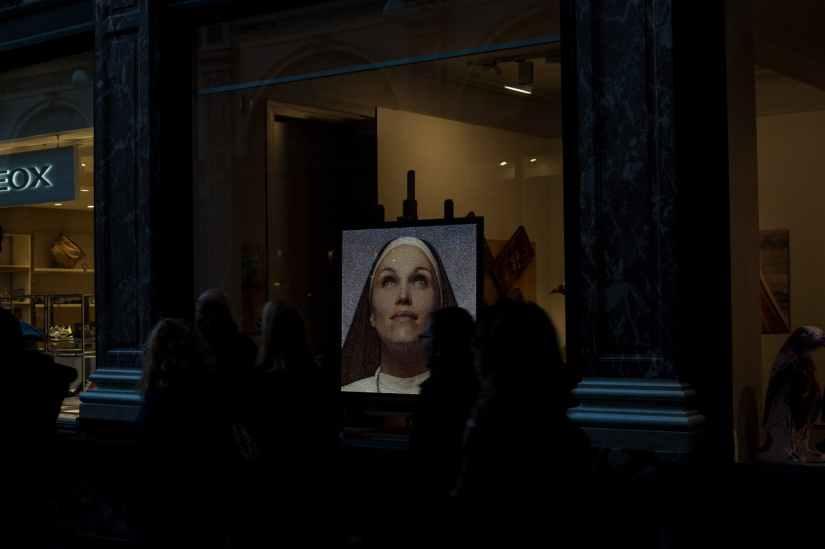 art artwork gallery glass window